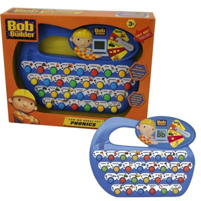 Bob the Builder Can We Spell It Fun Phonics