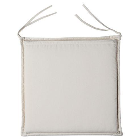 Cushion Seat Pad 2pk, Cream
