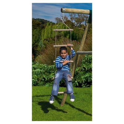 Plum Wooden Rope Ladder Accessory