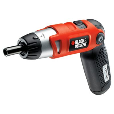 BLACK+DECKER 3.6V Lithium Pivot Handle Screwdriver KC36LN
