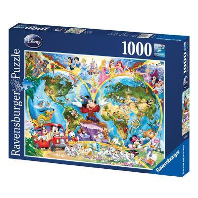 Disney World Map 1000 Piece Jigsaw Puzzle