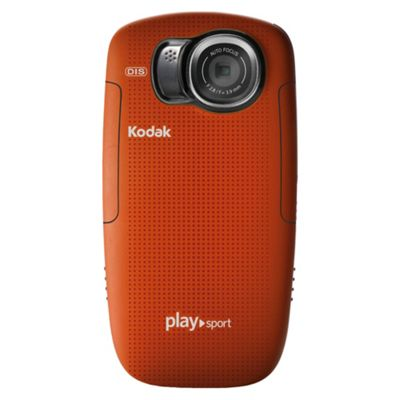 Kodak PlaySport Zx5 (Red), Full HD 1080P, Waterproof, Dustproof and Shockproof