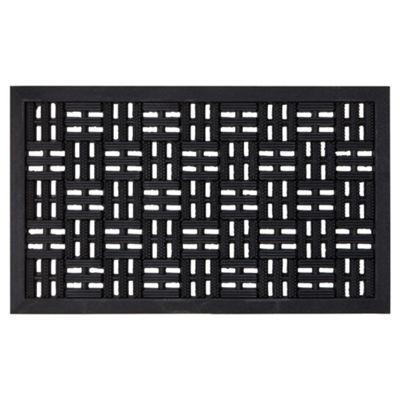 Trellis Chess Rubber Outdoor Mat 75x45cm