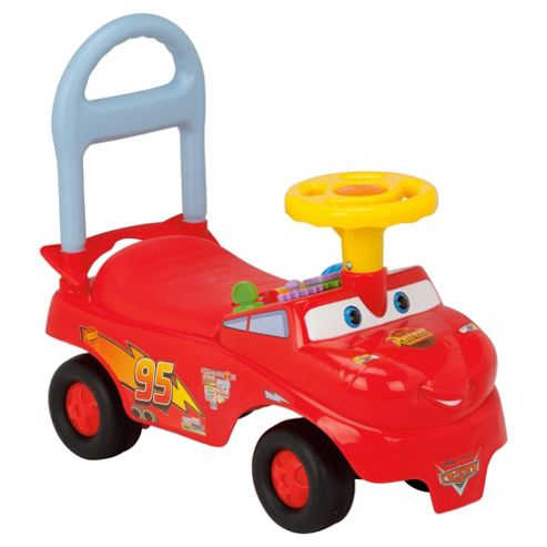 Disney Race n Go Lightning McQueen Ride-On Car