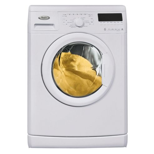 Whirlpool WWDC 7410 Washing Machine, 7kg Wash Load, 1400 RPM Spin, A+ Energy Rating. White