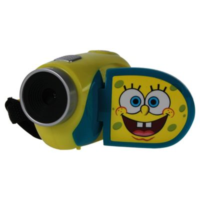 Spongebob Digital Camcorder, Yellow, 4x Digital Zoom, 1.5