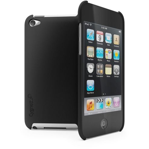Cygnet Mercury reflective low-pro Case for iPod Touch 4 - Gunmetal Grey