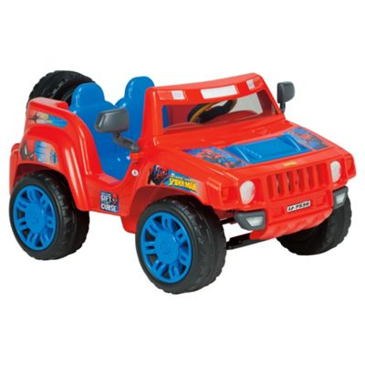 Marvel Amazing Spider-Man Evasive Jeep Ride-On 6V