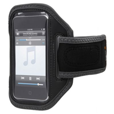 Cygnett Sports Fabric Armband iPhone/iPod 3G/3GS and 4/4S Black