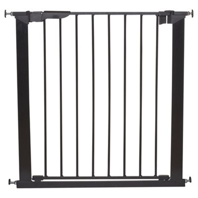 Babydan Premier Pressure Indicator Safety Stair Gate, Black