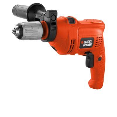 BLACK+DECKER 500w Corded Drill Kit