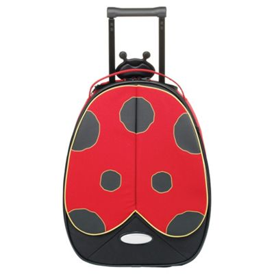 Buy Samsonite Funny Face Kids' Suitcase, Ladybird 45cm from our ...