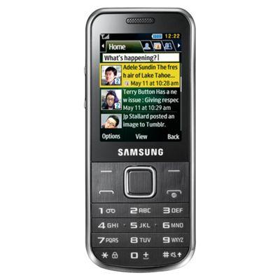 Tesco Mobile Samsung C3530 Chrome Silver