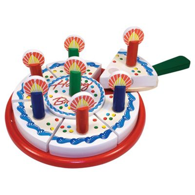 Melissa & Doug Birthday Party Wooden Pretend Play Set