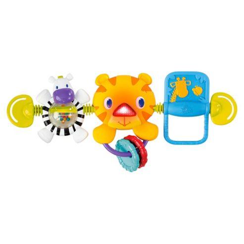 Bright Starts Hop Along Tiger Toy Bar