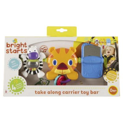 Bright Starts Hop Along Tiger Toy Bar