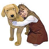 Melissa & Doug Yellow Labrador Giant 170cm Soft Toy