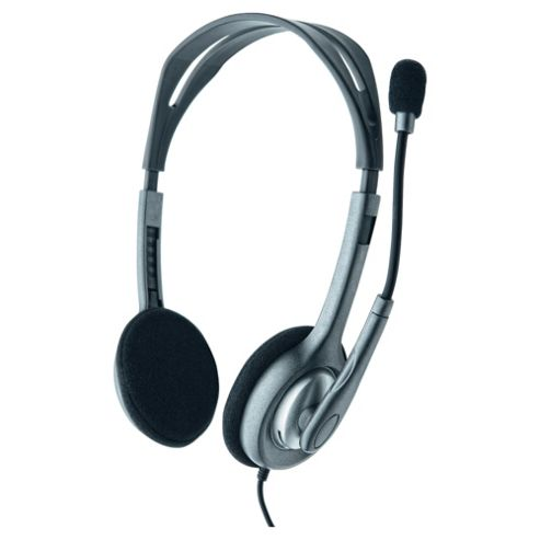 Logitech H110 Overhead Stereo Headset - Grey