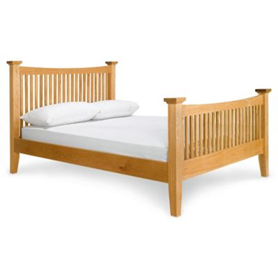 Hampstead King Bed Frame, Solid Oak