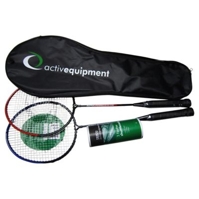 Activequipment 2 Player Badminton Set