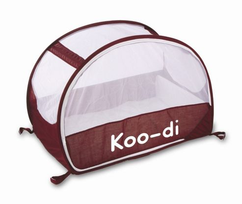 Koo-di Pop Up Bubble Travel Cot, Aubergine