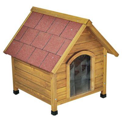 Doggyshack apex roof kennel, large
