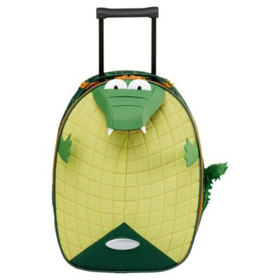 Buy Samsonite Funny Face Kids' Suitcase, Crocodile 45cm from our ...