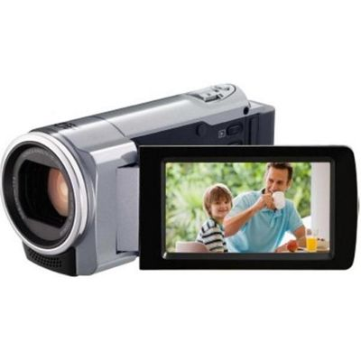 JVC Everio GZ-HM30 Silver HD Camcorder - 40x Optical Zoom, 200x Digital Zoom, 2.7