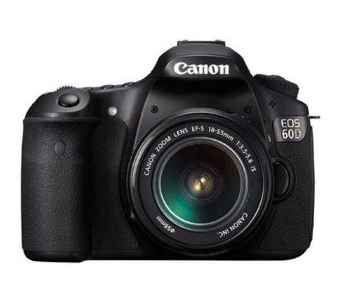 Canon EOS 60D Digital SLR Camera, Black, with EF-S 17-85 mm f/4-5.6 IS USM Lens Kit