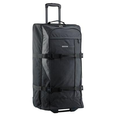 Samsonite Wander-Full 2-Wheel Duffle Bag, Black 82cm