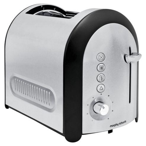 Morphy Richards 77730 Meno 2 Slice Brushed Toaster