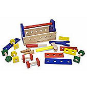 Melissa & Doug Take Along Wooden Tool Kit