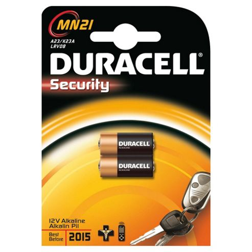 Duracell 2 Pack MN21 Security 12V Alkaline Batteries