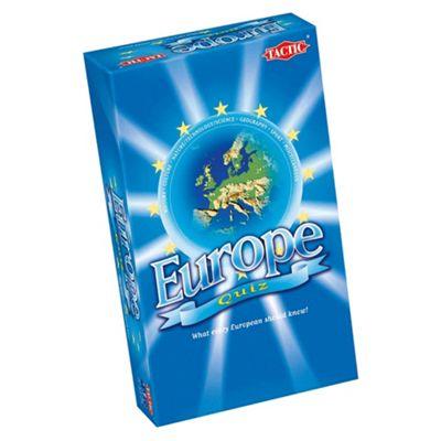 Tactic Europe Quiz Family Game