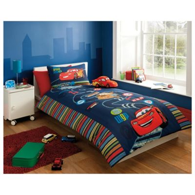 Disney Cars 2 Embellished Duvet Cover Set