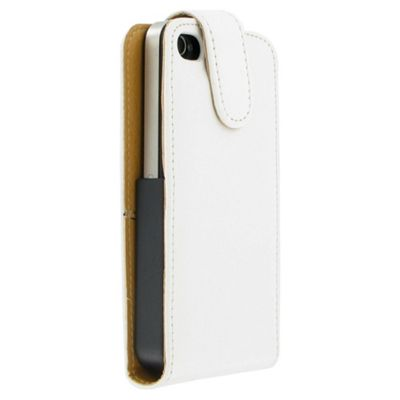 Pro-Tec Leather-Look Case for Apple iPhone 4/4S - White