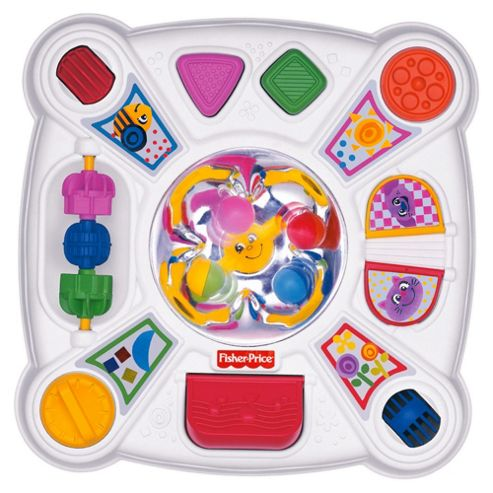 Fisher-Price Brilliant Basics Musical Pop-Tivity Table