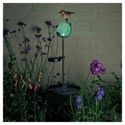 Solar Decorative Birdfeeder Stake Light
