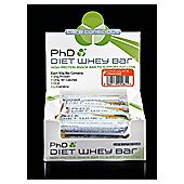 PHD Nutrition Diet Whey Bars Chocolate Cookie 50g *RRP £25.80*