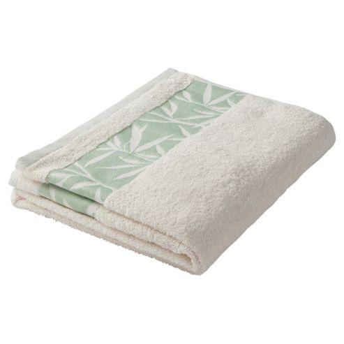 F&F Home Leaf Bath Sheet