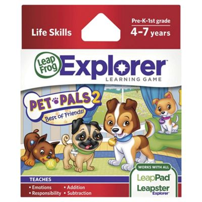 LeapFrog LeapsterLeapPad Explorer Pet Pals 2 Game