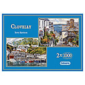Gibsons Clovelly Twin Pack 1000-Piece Jigsaw Puzzles