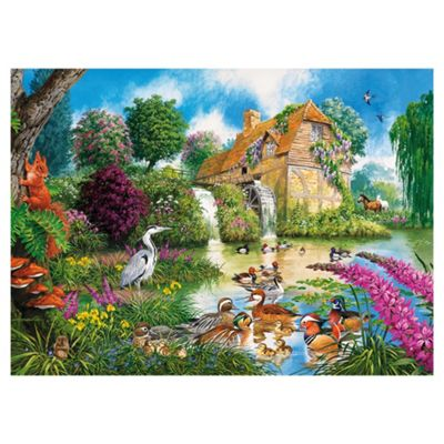 Games The Old Watermill 1000-Piece Jigsaw Puzzle