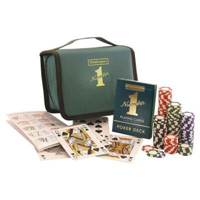 Waddington's Travel Poker Set