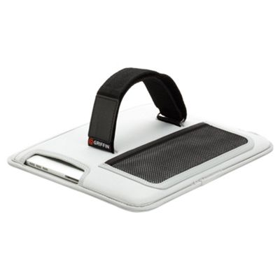 Griffin GB02464 Seat-back video case for new Apple iPad and iPad 2 grey