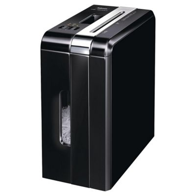 Fellowes DS-1200C Deskside Shredder 4 x 50mm Cross Cut 18 Litre DIN3 15 Sheet Ref DS-1200C