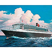 Revell Ocean Liner Queen Mary 2 1:1200 Scale Model Set