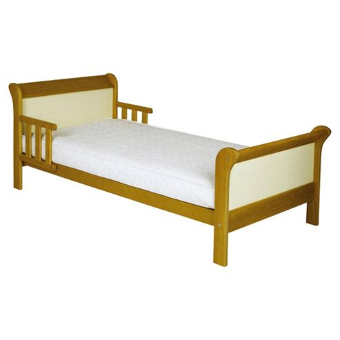 Saplings Poppy Junior Bed, Pine & Ivory