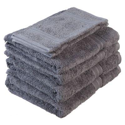 Tesco Towel Bale Grey