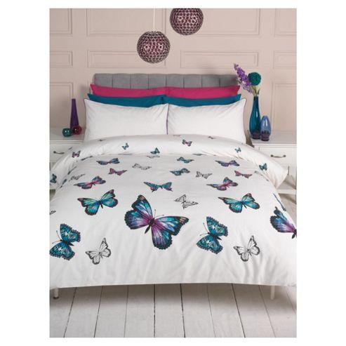 F&F Home Cascade Butterflies Single Duvet Set